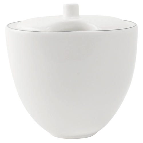 Abbesses Sugar Bowl, Gray Rim