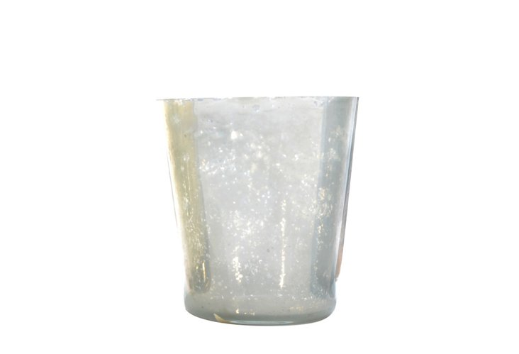DNU S/6 Smooth Votives, Small Silver