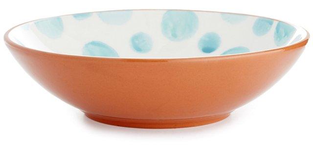 DNU S/4 Terracotta Spongeware Bowls