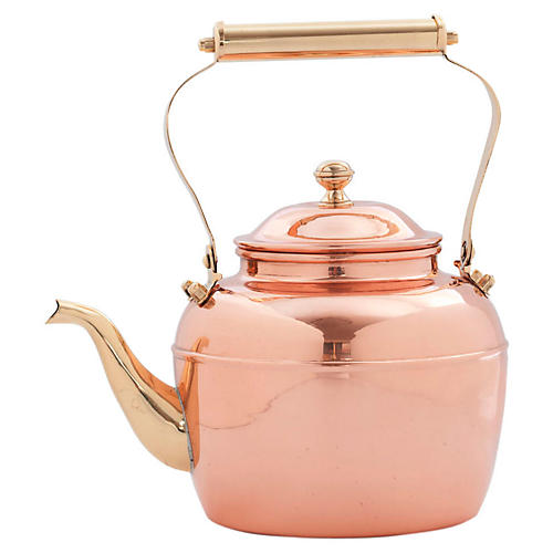 Tea Kettle, Copper