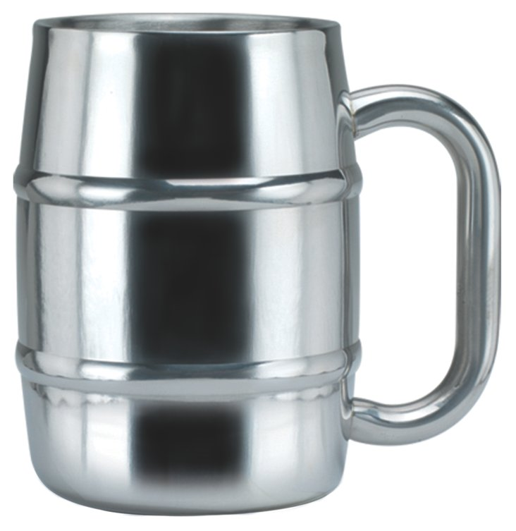 Double-Wall Stainless-Steel Mug