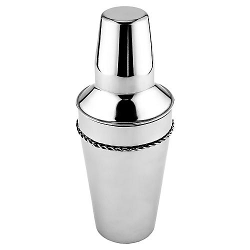 Stainless-Steel Cocktail Shaker, 20 Oz