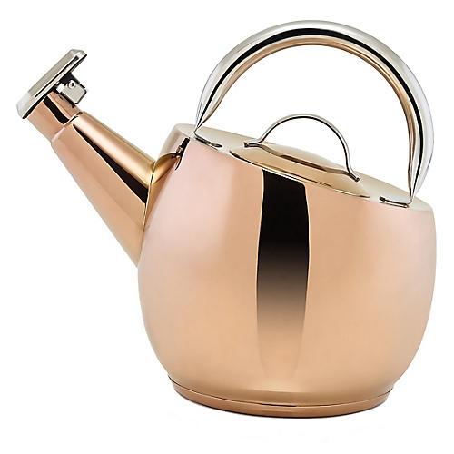 Marazzi Tea Kettle, Copper