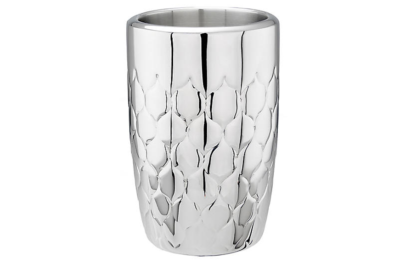 Noella Wine Cooler, Silver