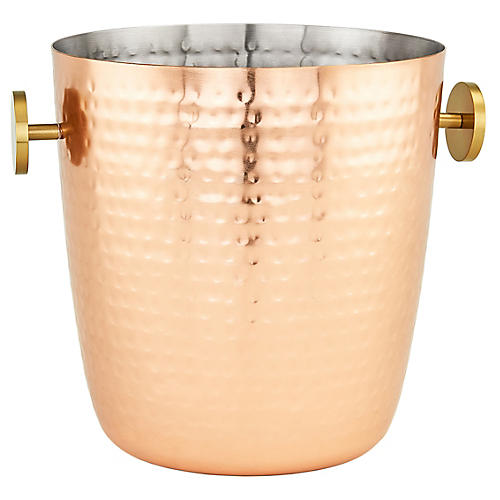 Dover Champagne Bucket, Copper/Gold