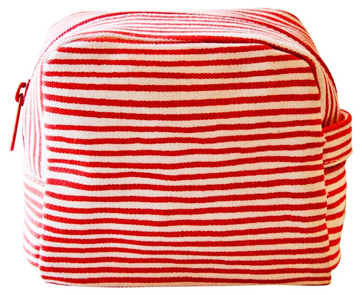 Small Cosmetic Bag, Red