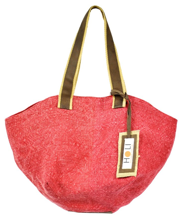 Bounty Chic Tote, Red