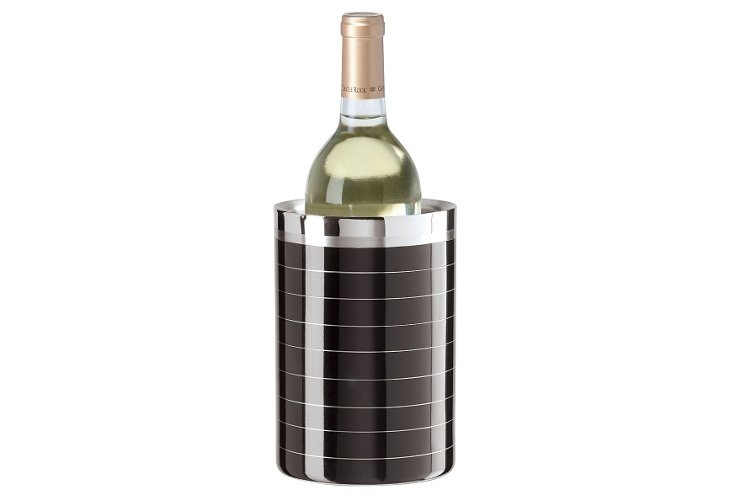 Double Wall Wine Cooler, Black