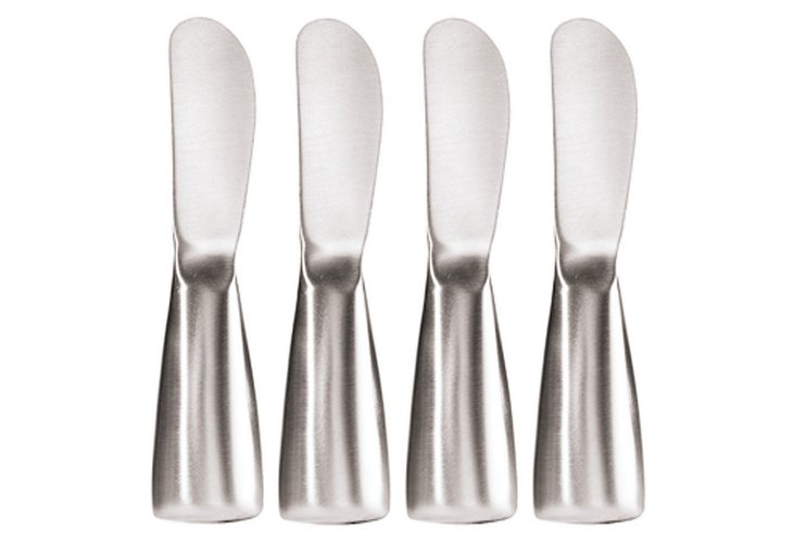 4-Pc Stainless Spreaders Set