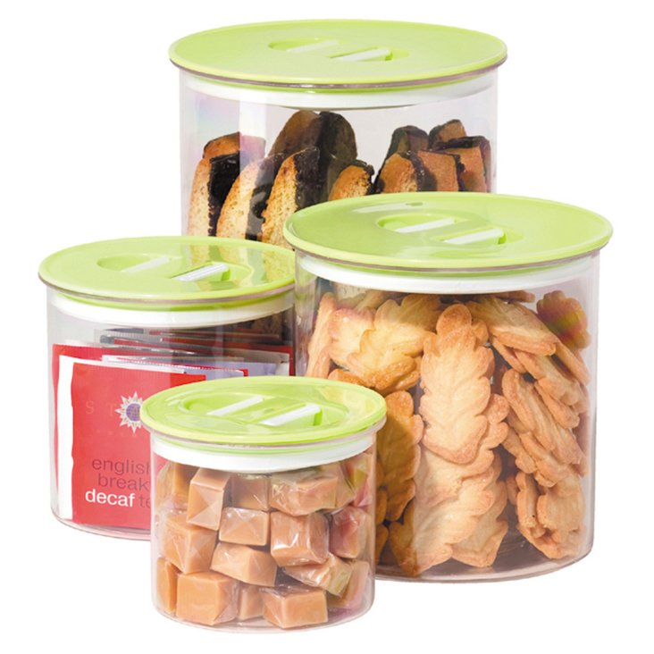4-Pc Stack and Store Set, Green
