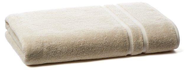 Solid Dobby Bath Sheet, Khaki