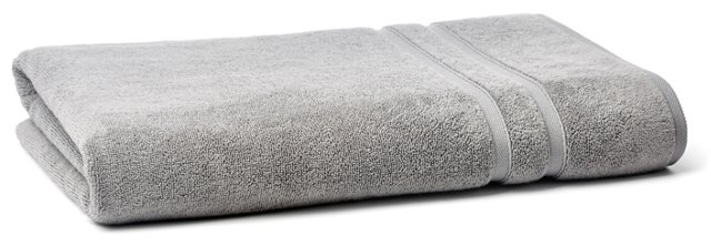 Solid Dobby Bath Sheet, Icicle