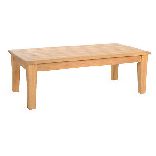 Grande Teak Coffee Table