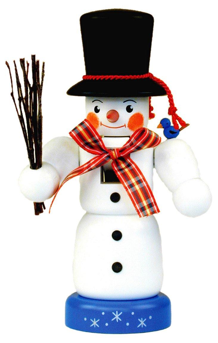 "9"" Snowman Nutcracker, Painted"