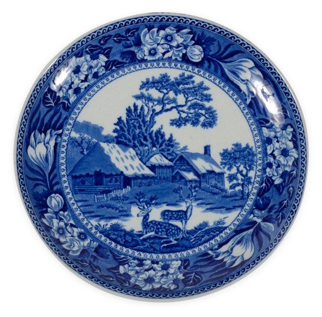 Cauldron Ware Blue & White Plate
