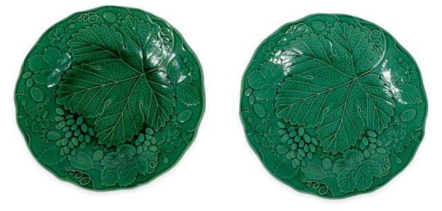 Green Plates, Pair