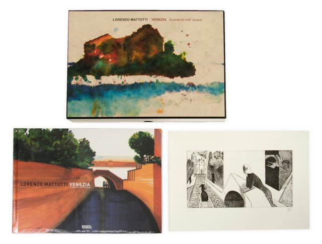 Lorenzo Mattotti Venezia Book Box Set