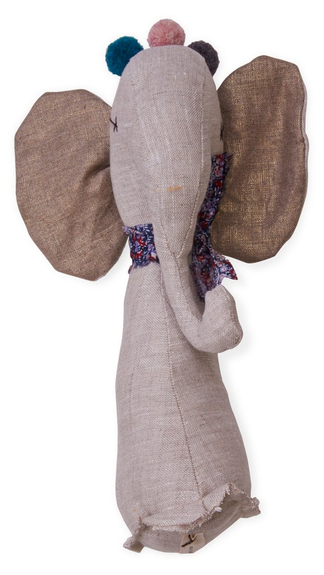 Jess Brown Linen Elephant