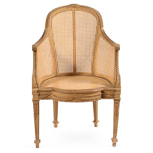 Caned Bergère
