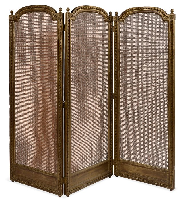 Caned Screen