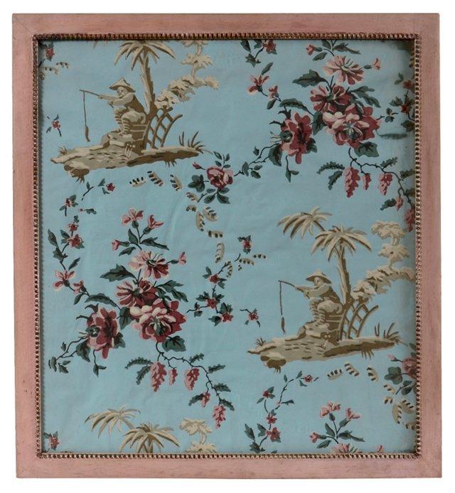 Antique Wallpaper Panel