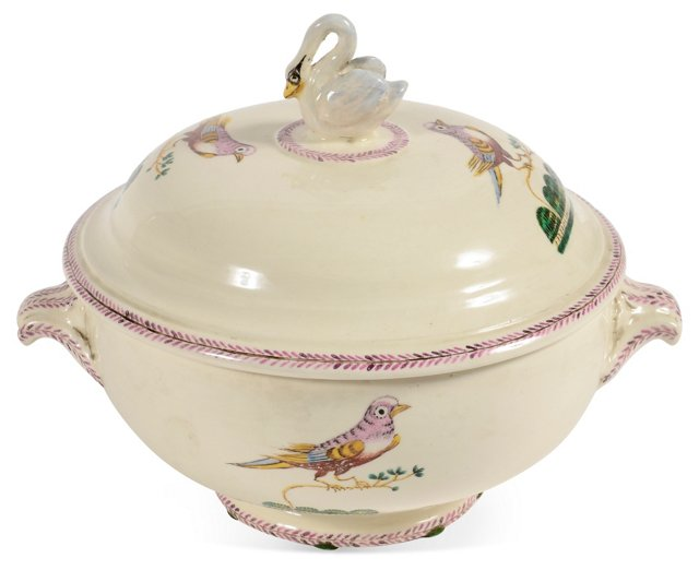 Ceramic Bird Tureen