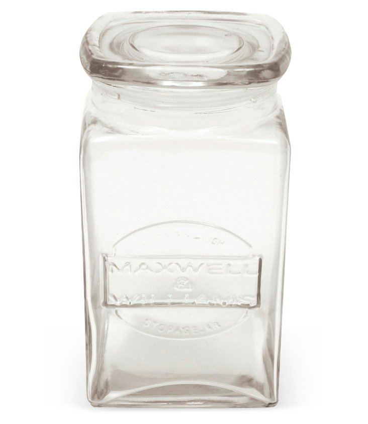S/4 Olde English Storage Jars, 34 Oz