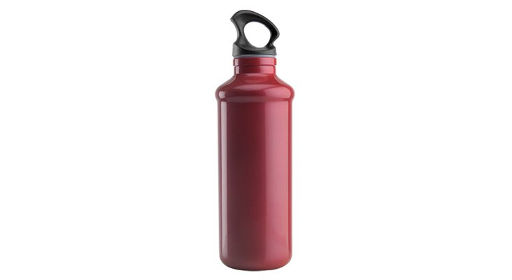 Chic Hydration Bottle Tall, Red