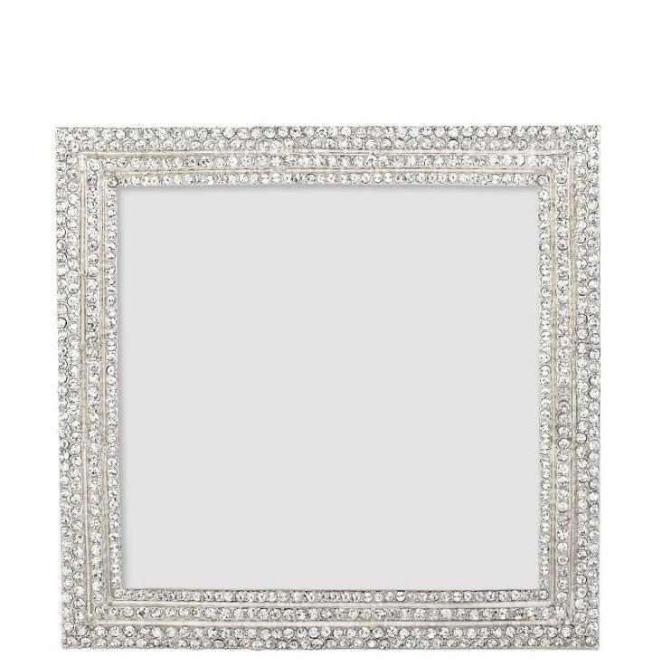 5x5 Crystal Pavé Frame