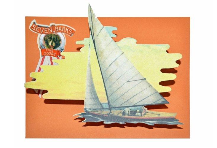 10 Correspondence Cards, Boating