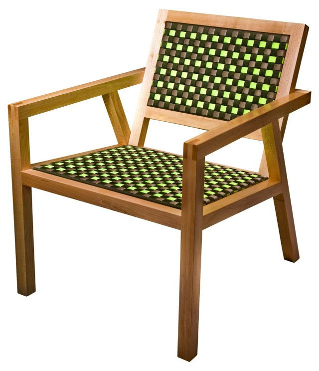 Maple Strap Chair No. 1