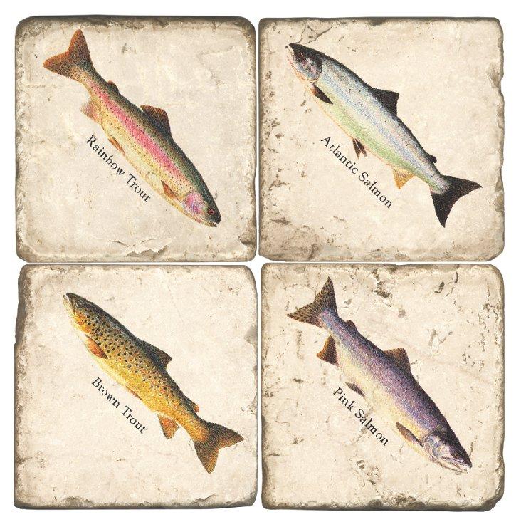 Marble Coasters, Fish