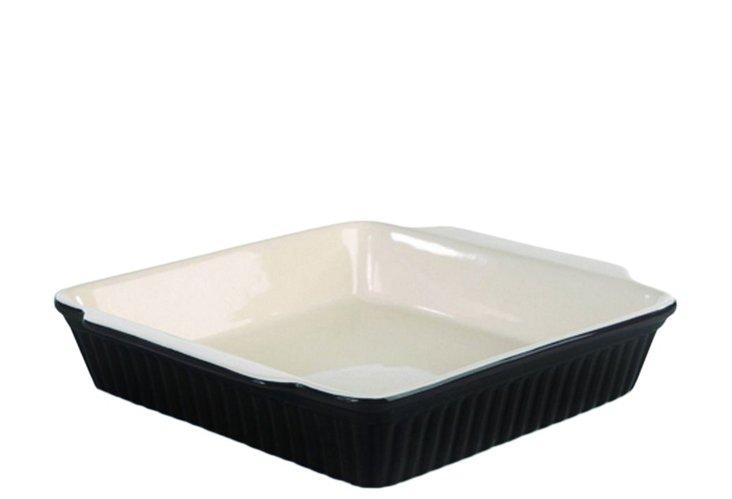 Set of 2 Square Bakers, Black