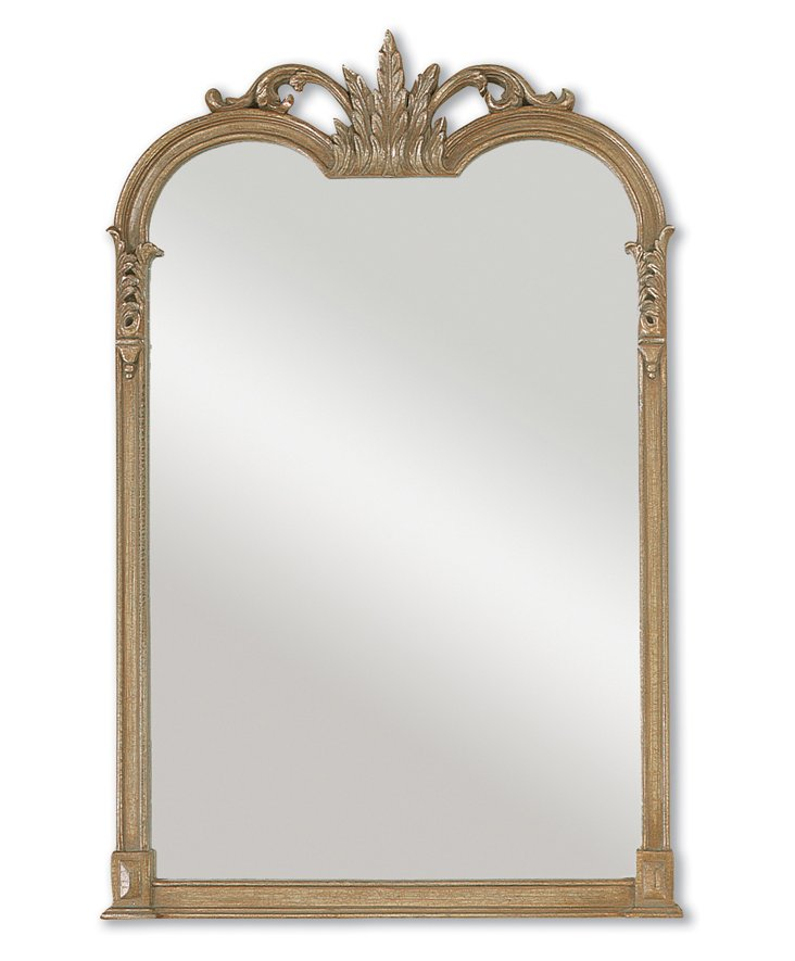 Jacque Wall Mirror, Champagne