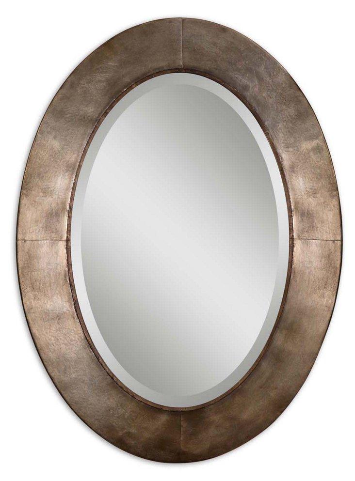 Gianni Wall Mirror, Champagne