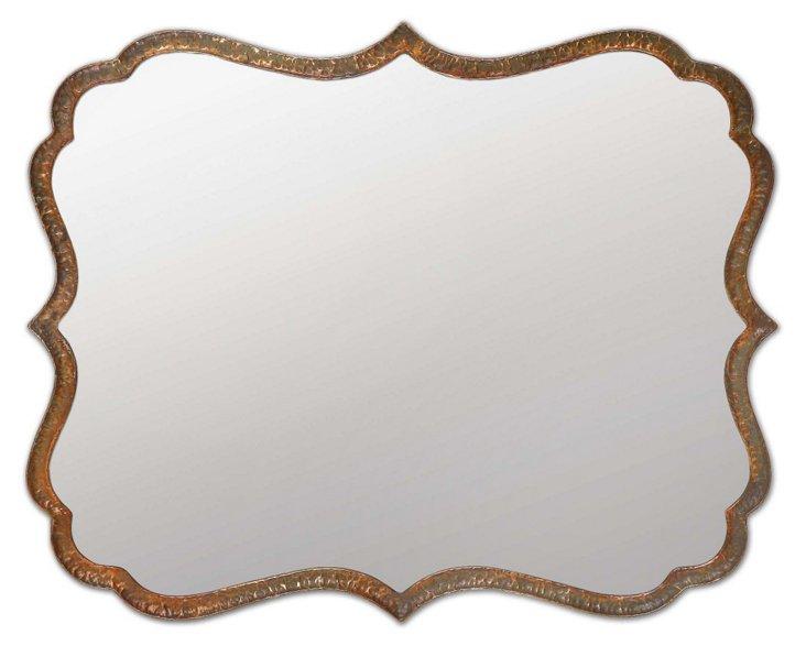 Harloff Wall Mirror, Copper