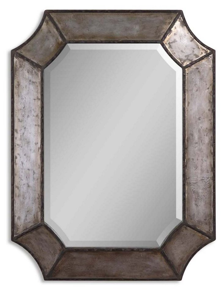 Annecy Wall Mirror, Rustic