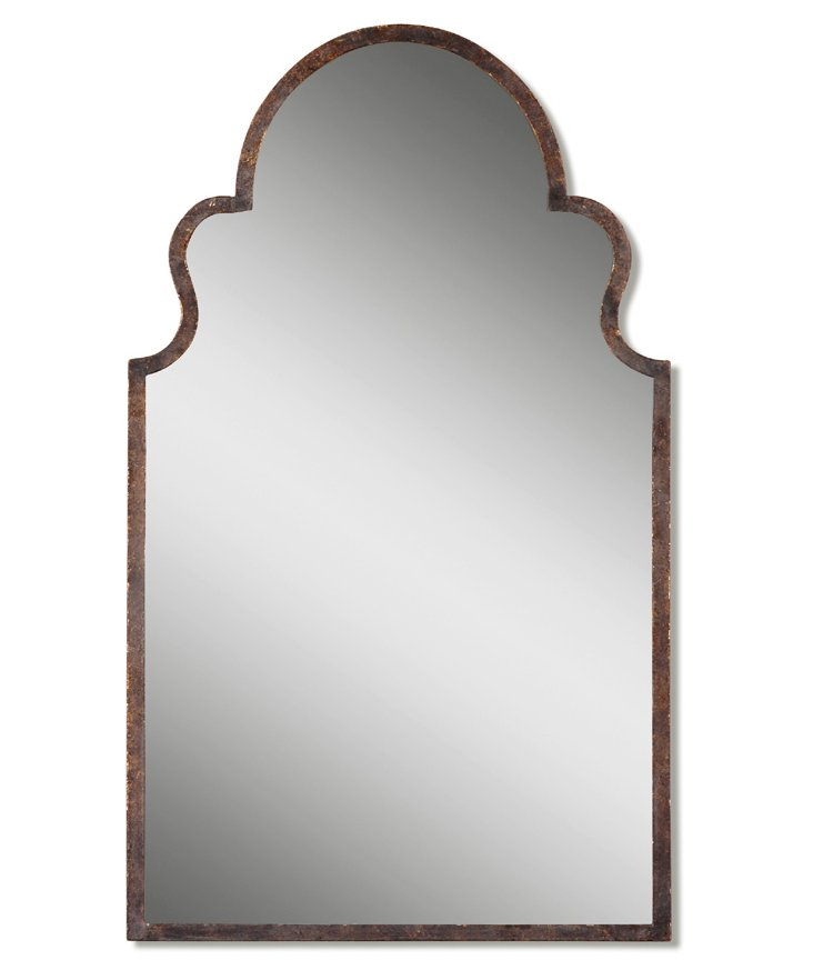 McCall Oversize Mirror, Burnished