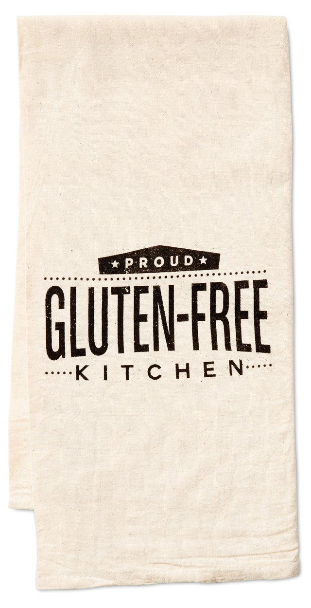 """Proud Gluten-Free"" Kitchen Towel"