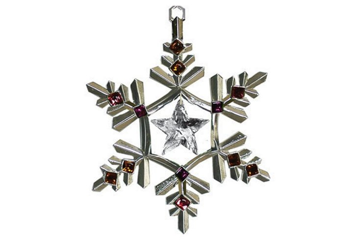 Charming Star Ornament, Clear