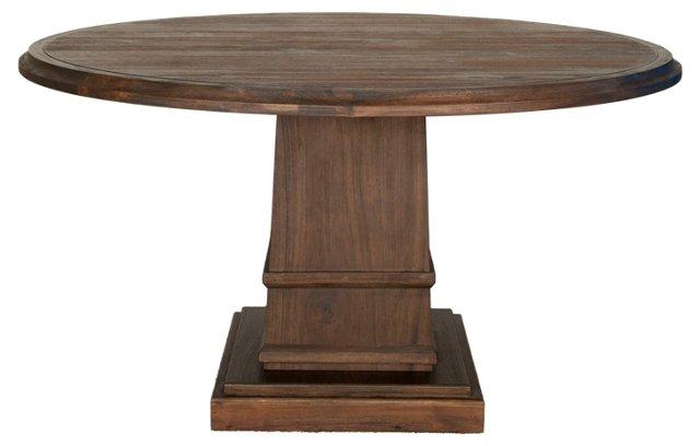 """Wyatt 60"""" Round Pedestal Dining Table"""