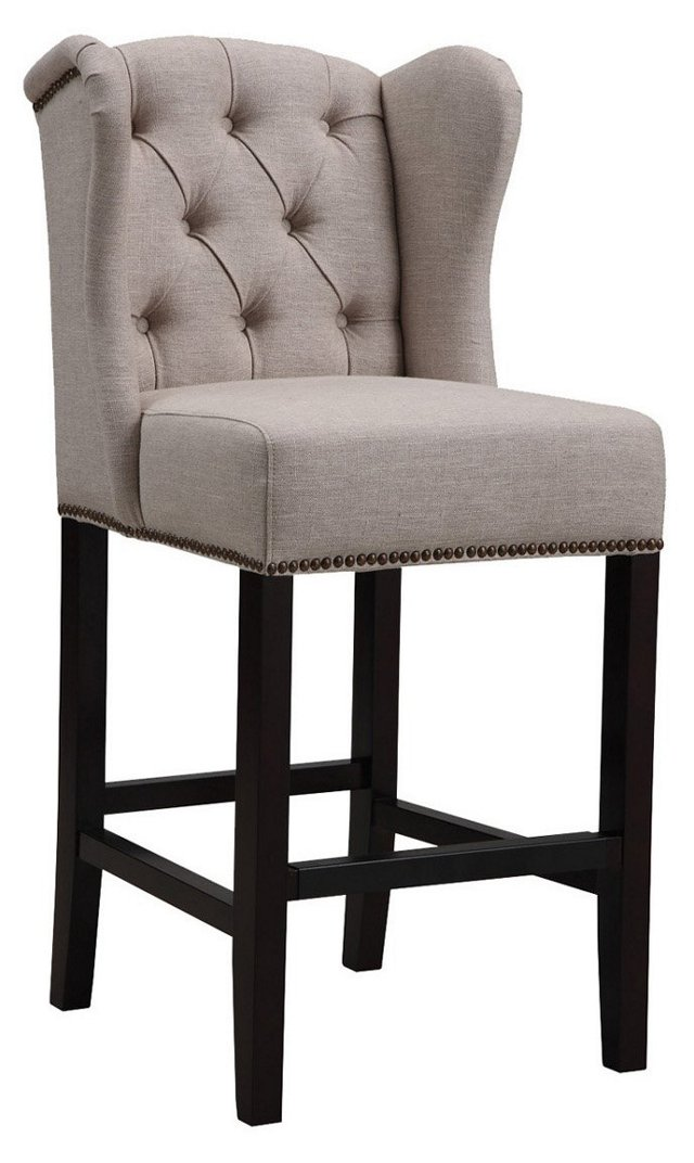 Bedford Wingback Counter Stool