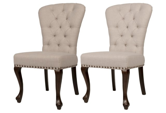 DNUDNU Harlow Dining Chairs, Pair
