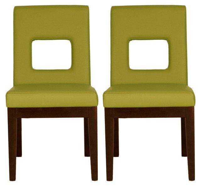 Serafine Dining Chair, Pair