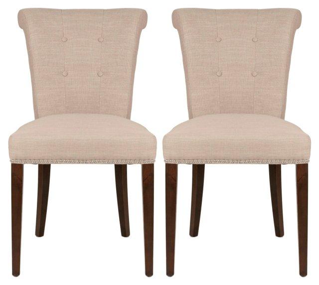 Needham Dining Side Chair, Pair