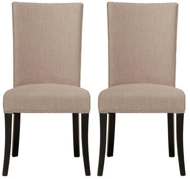 Almond Kai Dining Chairs, Pair