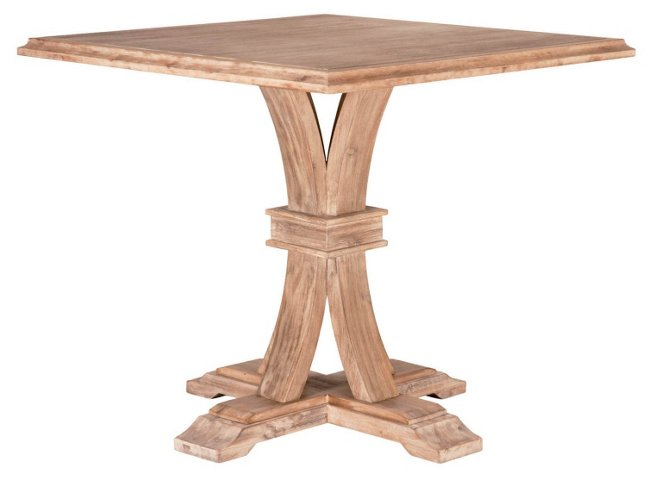 Collins 40 square dining table natural dining tables dining collins 40 square dining table natural dining tables dining tables dining room furniture one kings lane watchthetrailerfo