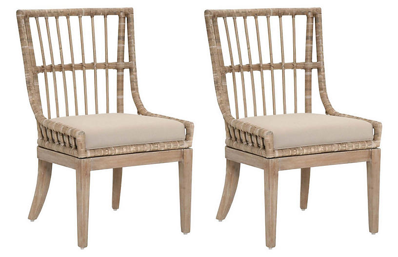 Fine S 2 Rio Side Chairs Stone Unemploymentrelief Wooden Chair Designs For Living Room Unemploymentrelieforg