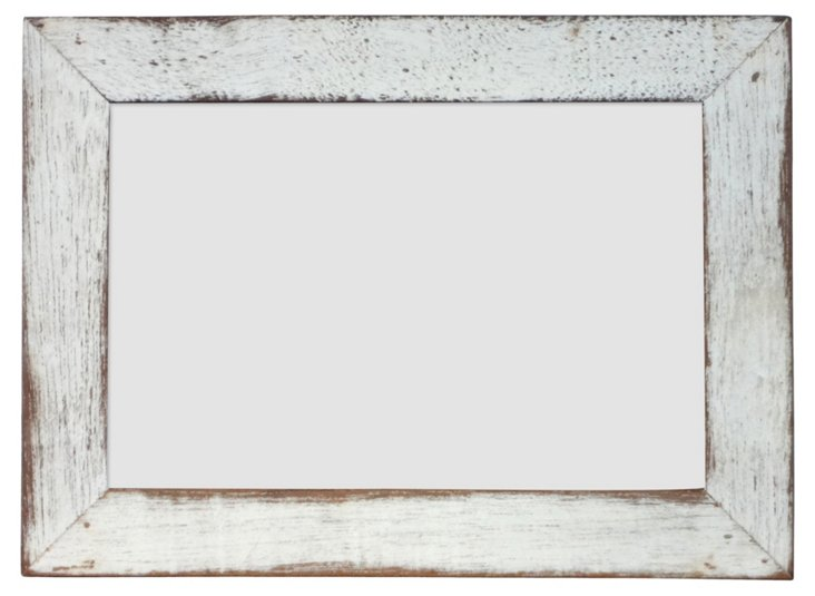 Mayberry Frame, 4x6, White