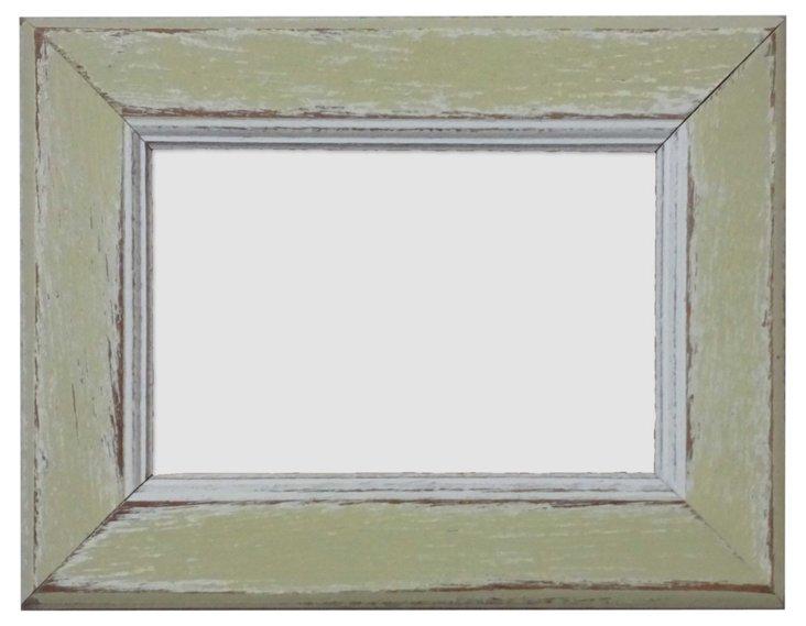 Seahurst Frame, 4x6, Yellow Lime